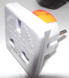 Adapter for UK electri
