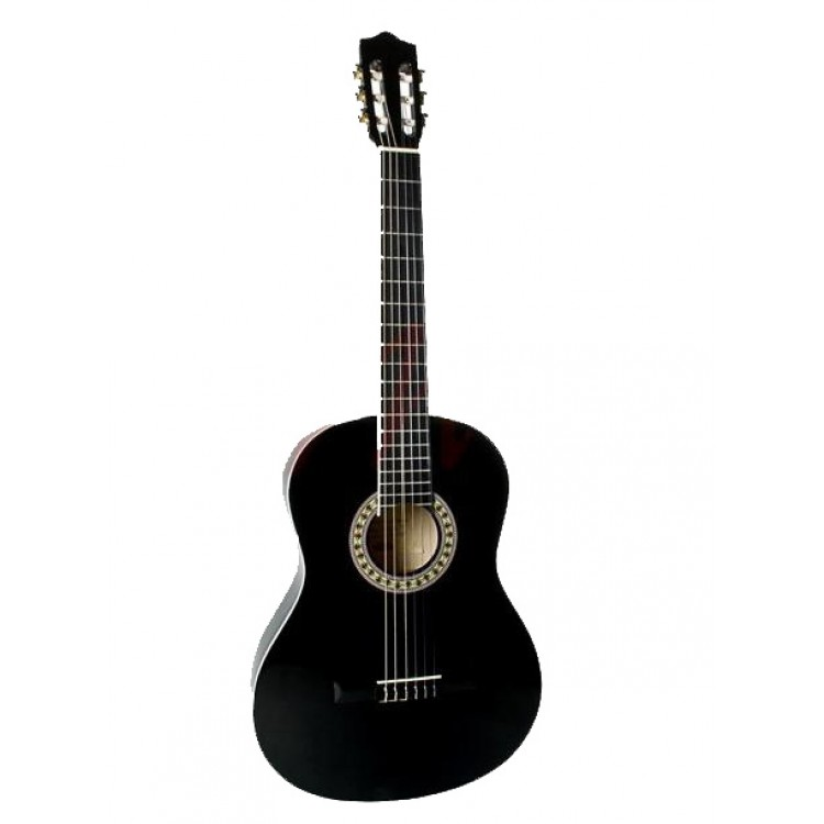 Stagg C542 BK 4/4 Full Sized Classical Guitar Black